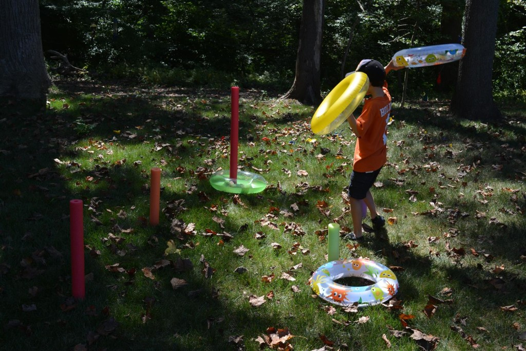 Pool Noodle Party Games