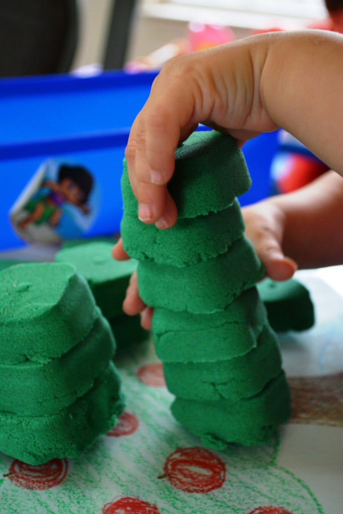 Kinetic Sand Blocks